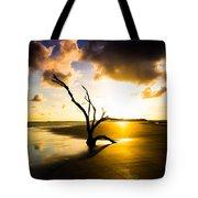 The Driftwood Tree Folly Beach Tote Bag