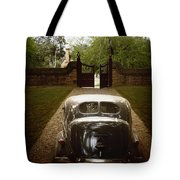 The Drive In Tote Bag