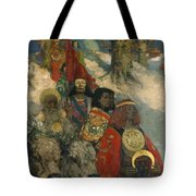 The Druids - Bringing In The Mistletoe Tote Bag