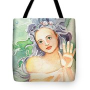 The Dry Side Of The Glass Tote Bag