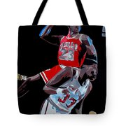 The Dunk Tote Bag by Don Medina