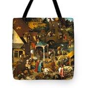The Dutch Proverbs Tote Bag