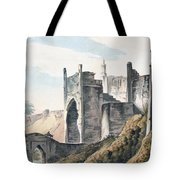 The East End Of The Fort Of Mongheer Tote Bag