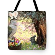 The Easter Hummer Tote Bag