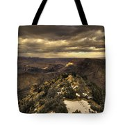 The Eastern Rim Of The Grand Canyon Tote Bag