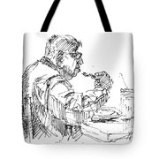 The Eater Tote Bag