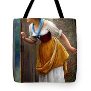 The Eavesdropper Tote Bag