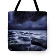 The Edge Of Forever Tote Bag by Jorge Maia