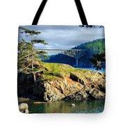 The Edge Of Paradise Tote Bag
