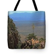 The Edge Of Parker Canyon Tote Bag