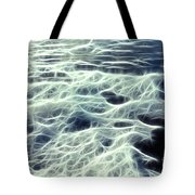 The Edge Of The Wave Tote Bag