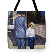 The Education Of A King Tote Bag by Colin Bootman
