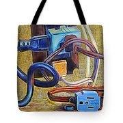 The Electronic Age Tote Bag