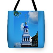 The Eliot House Tower, Harvard Tote Bag