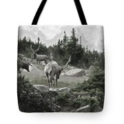 The Elk Painterly 2 Tote Bag