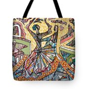 The Elusive Dancer Tote Bag