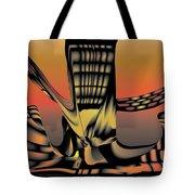 The Ember Tree Tote Bag