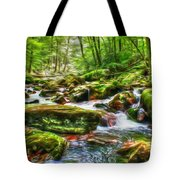 The Emerald Forest 15 Tote Bag