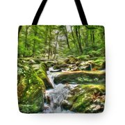 The Emerald Forest 3 Tote Bag