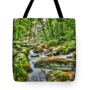 The Emerald Forest 4 Tote Bag
