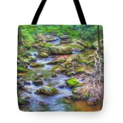 The Emerald Forest 6 Tote Bag