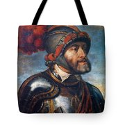 The Emperor Charles V Tote Bag