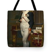 The Emperor Napoleon In His Study Tote Bag