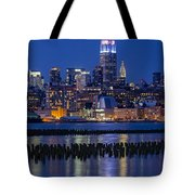 The Empire State Building Pastels Esb Tote Bag