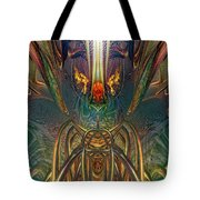 The Enchanted Candle Light Fire Fx  Tote Bag