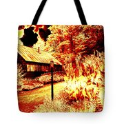 When The World Burns  Tote Bag