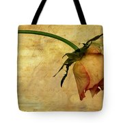 The End Of Love Tote Bag by John Edwards