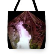 The End Of Silver Falls  Tote Bag