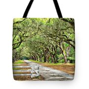 The End Of The Alley Tote Bag