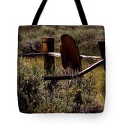 The End Of The Trail Tote Bag