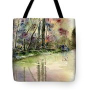 The End Of Wonderful Day Tote Bag