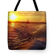 The End To A Fishing Day Tote Bag