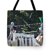 The End To The Jousting Contest  Tote Bag