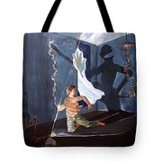 The Entity Of Fear Tote Bag