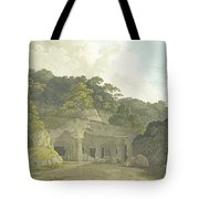 The Entrance To The Elephanta Cave Tote Bag