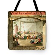 The Entrance To The Tower Of The Winds Tote Bag