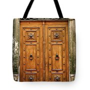 The Entrance To Tuscany Tote Bag