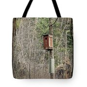 Birdhouse Environment Of Hamilton Marsh  Tote Bag
