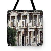 The Ephesus Library In Turkey Tote Bag