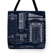 The Erie Land Lighthouse Tote Bag