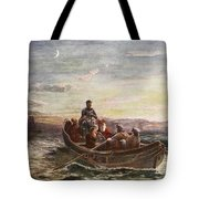 The Escape Of Mary Queen Of Scots Tote Bag