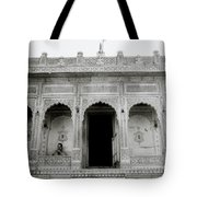 The Ethereal Temple Tote Bag