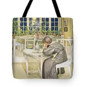 The Evening Before The Journey Tote Bag