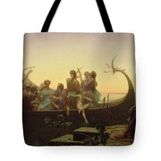 The Evening Tote Bag by Charles Gleyre