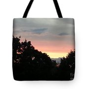 The Evening Sky Tote Bag