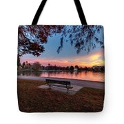 The Evening View Revisited Tote Bag